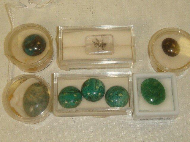 8: Collection of 16 Semi Precious Unset Stones: - 2