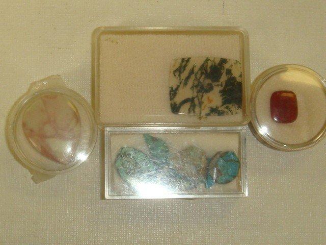 8: Collection of 16 Semi Precious Unset Stones: - 3