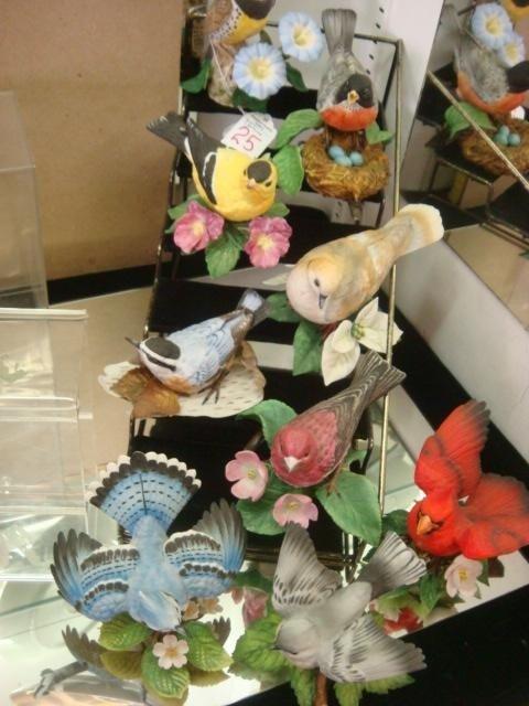 25: Ten LENOX Porcelain Bird Figurines: