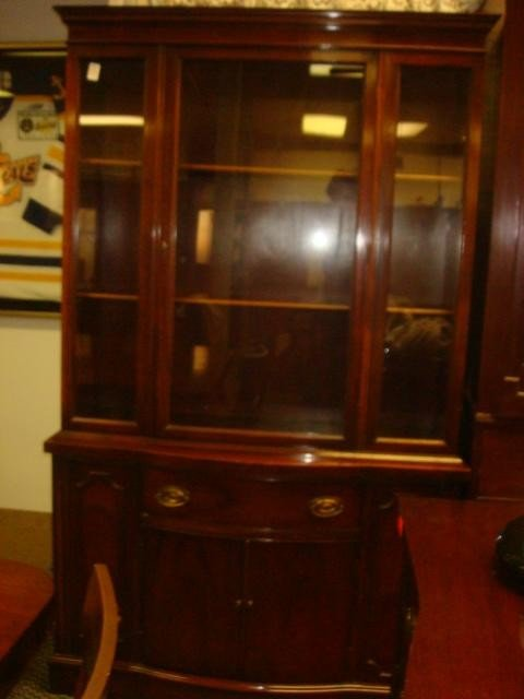 33: Nine Piece Mahogany Dining Room Set: - 4