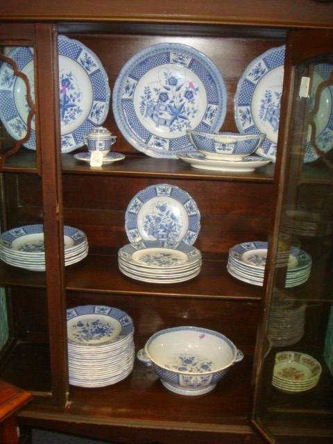 56: SARREGUEMINES Decor La Fayette French Dinnerware: