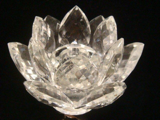188: GODINGER SILVER ART CO. Plate/Crystal Candlesticks - 2