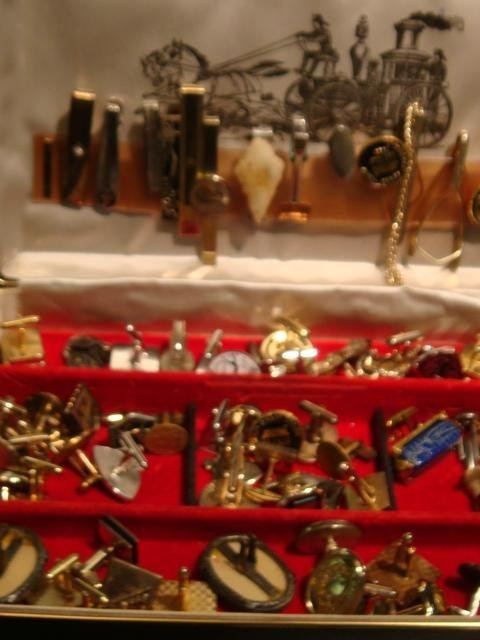 2: Thirty+ Pairs of Vintage Cufflinks and Tie Clasps: