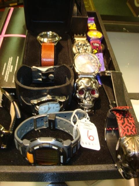 6: Collection of 11 Men's Wrist Watches: