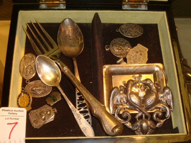 7: Five + Ounces of Sterling Silver Pieces: