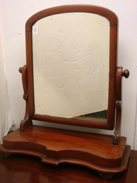 9: Empire Mahogany Tilt Shaving Mirror:
