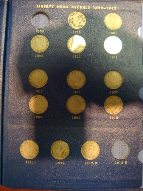 88A: 3 Coin Books, Complete JEFFERSON Book, 13 LIBERTIY