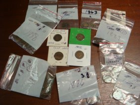 73 US INDIANHEAD PENNIES:
