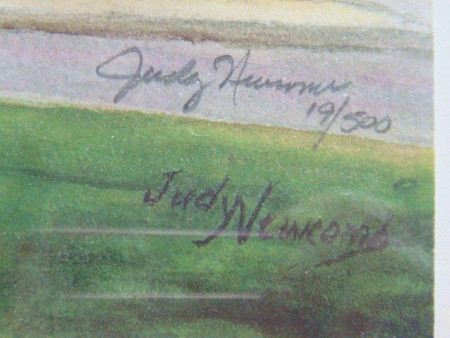 155: Six JUDY NEWCOMB Signed Prints, Monuments Richmond - 5