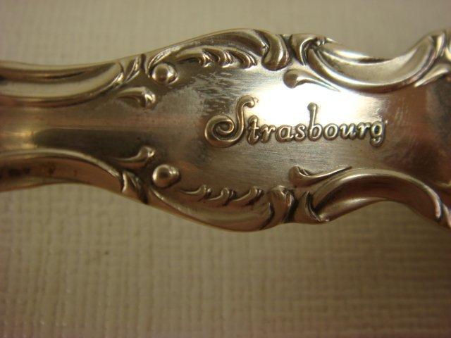 329: GORHAM Strasbourg Sterling Silver Flatware: - 3