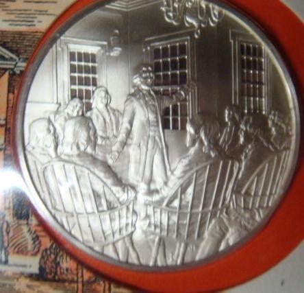 1: Official 1st Continental Congress Bicentennial Coin: - 2