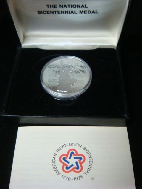 7: The Silver National Bicentennial Medal: