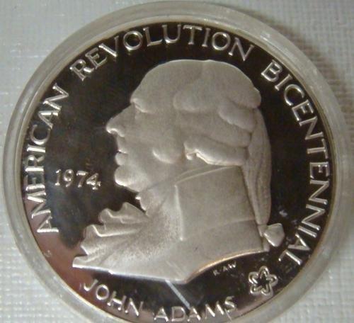 8: 1974 Bicentennial Commemorative Silver Medal: