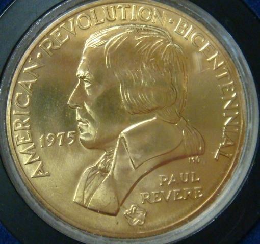 14: Four Bicentennial Coins, 1972, 2 x 1975, 1976: - 4