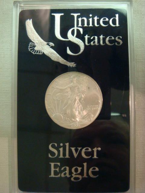 22: 2003 AMERICAN SILVER EAGLE Bullion Coin: