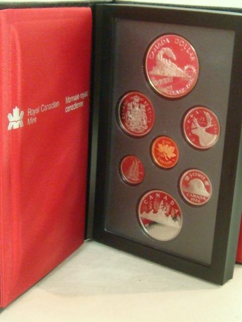 71: 1986 Canadian Coin Proof Set