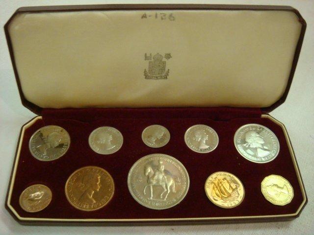 75: Queen Elizabeth II Coronation Proof Set, 2 June 195