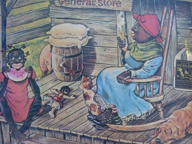 199: Bull Durham Tobacco Black Americana Ad Poster: - 3