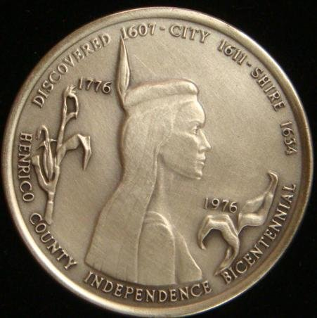 15A: HENRICO COUNTY INDEPENDENCE BICENTENNIAL SILVER CO