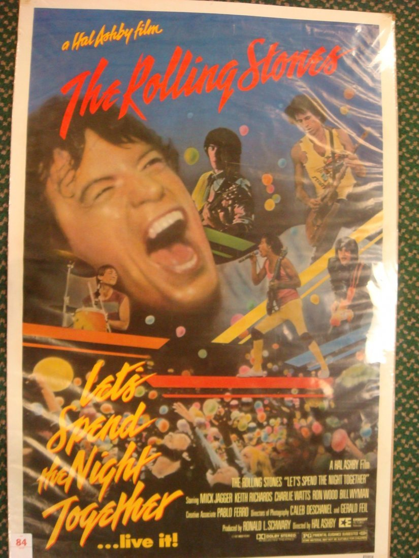 84: Rolling Stones Movie Poster: