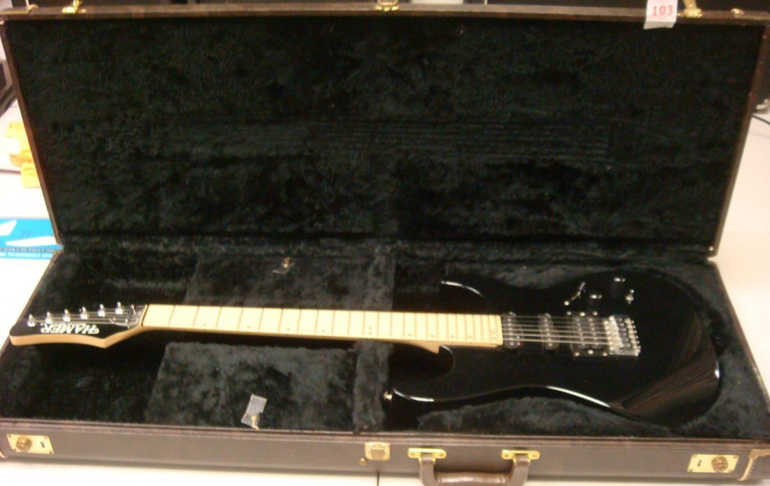103: HAMER SLAMMER SERIES Electric Guitar with Case: - Apr