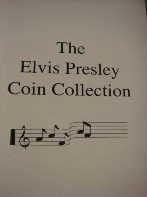 144: The Elvis Presley Top 40 Hits Coin Collection: