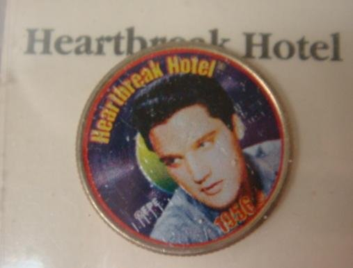 144: The Elvis Presley Top 40 Hits Coin Collection: - 3