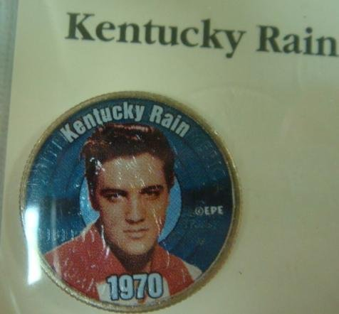 144: The Elvis Presley Top 40 Hits Coin Collection: - 4