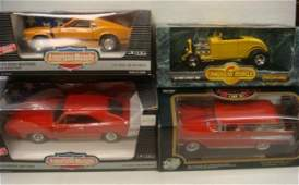 222: Three American Muscle and Nomad Die Cast Cars: