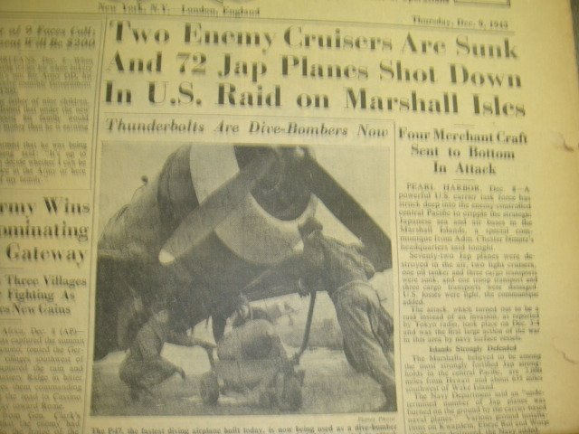 271: Collection of WWII STARS & STRIPES Newspapers: - 4