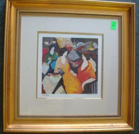 11: Signed Numbered TARKAY Limited Edition Serigraph: