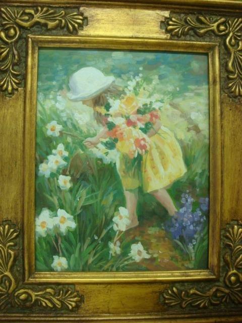 18: Signed J TOLEDO Oil on Canvas,
