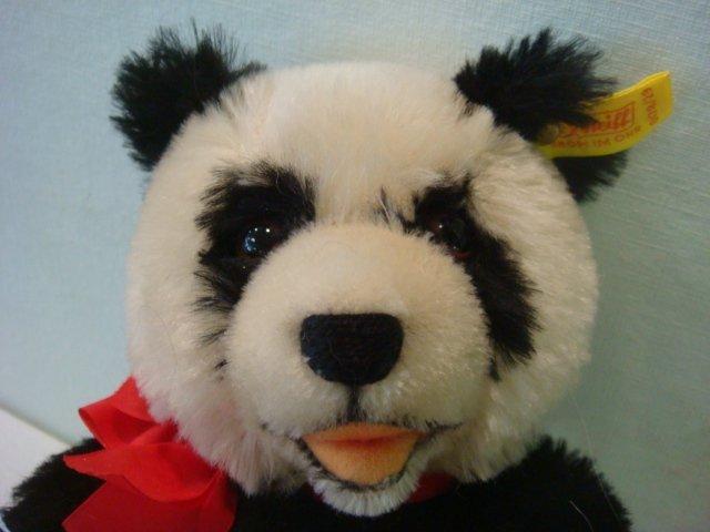 22: STEIFF Panda Bear, 1938 Replica: - 2
