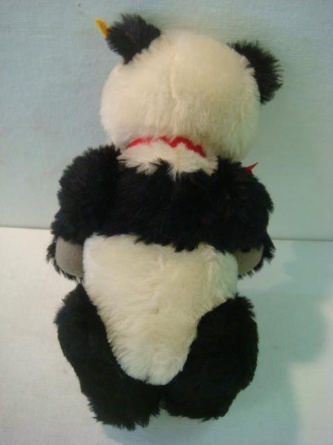 22: STEIFF Panda Bear, 1938 Replica: - 4