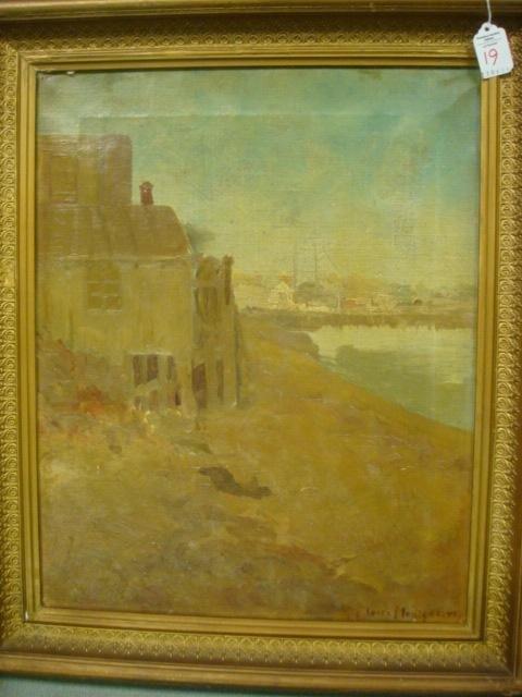 19: ELOISE MONTGOMERY Oil on Canvas Landscape: