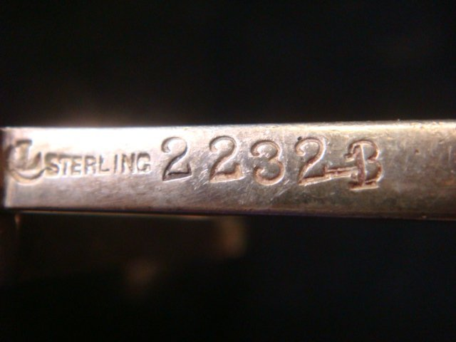 57: CARTIER Sterling Silver Ice Tongs, CA 1940: - 2