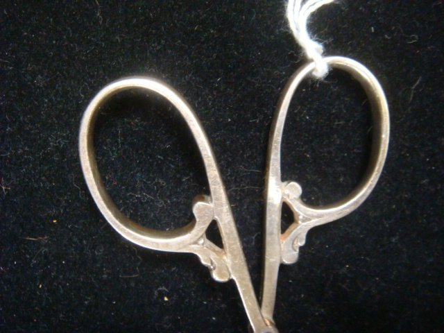 57: CARTIER Sterling Silver Ice Tongs, CA 1940: - 5