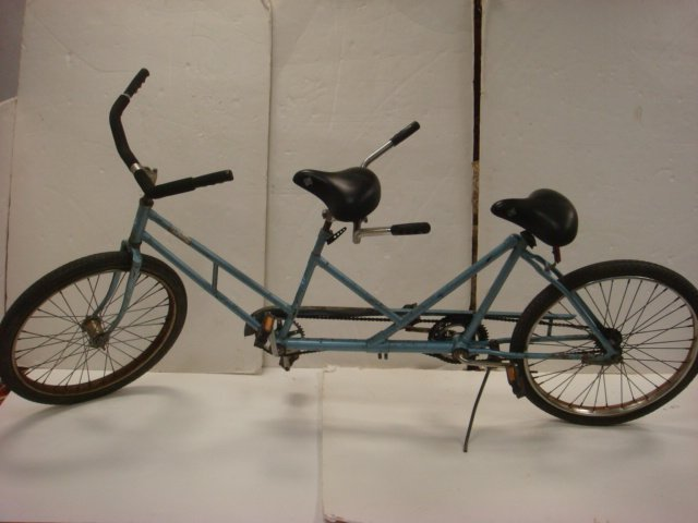 """64: WORKSMAN CYCLES Tandem 26"""" Bicycle Built For Two:"""