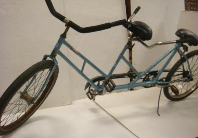 """64: WORKSMAN CYCLES Tandem 26"""" Bicycle Built For Two: - 5"""