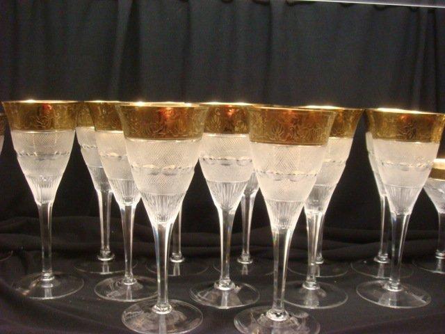 "240: MOSER ""Splendid"" Crystal Stemware, 36 Pieces:"