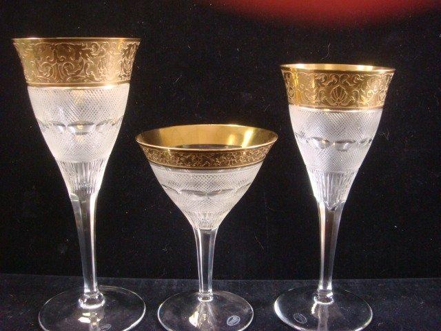 "240: MOSER ""Splendid"" Crystal Stemware, 36 Pieces: - 2"