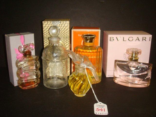 10: GUERLAIN, NINA RICCI, BVLGARI, BOMBI Cologne Bottle