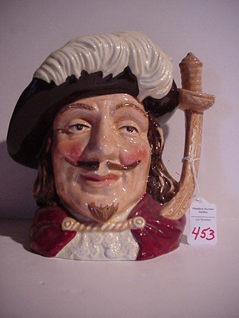 453: Porthos, Royal Doulton Jug: D6440, 1955,
