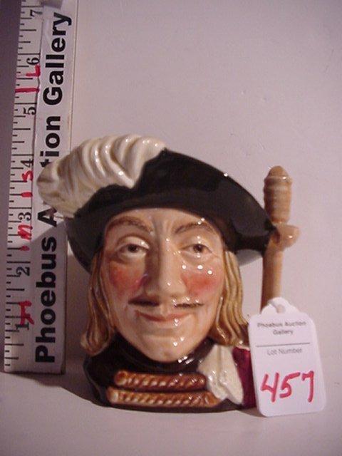 457: Aramis, Royal Doulton Jug: D6454, Small,
