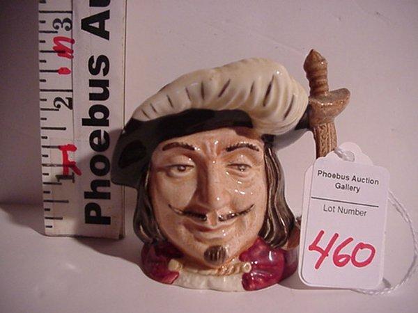 460: Porthos, Royal Doulton Jug: D6454, Minia