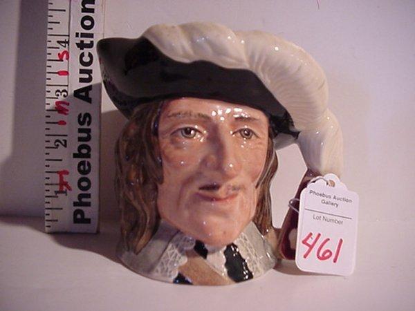 461: D'Artagnan, Royal Doulton Jug: D6764, Sm