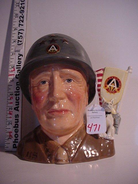 471: General Patton, Royal Doulton Jug: D7026