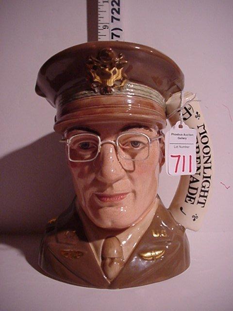 711: Glenn Miller, Royal Doulton Jug: D6970,