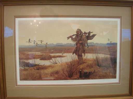 Signed John Clymer Limited Edition Print