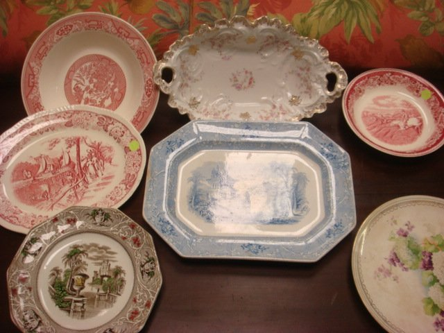Transferware Plates, Bowls and More: